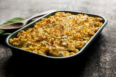 Refried Bean, Zucchini and Corn Gratin: also called Three Sisters Casserole. Three Sisters refers to the Native American practice of growing corn, beans and squash in the same field