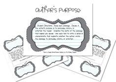 Author's Purpose - I'm PIE'd Out!