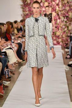 Oscar de la Renta Spring 2015 Ready-to-Wear - Collection - Gallery - Look 1 - Style.com | culotte dressssssxxoxoxoxoxo
