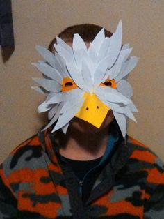 Bald eagle halloween costume contest at costume works lots of inspiration diy makeup tutorials and all accessories you need to create your own diy eagle costume for halloween solutioingenieria Image collections
