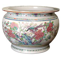 Chinese Famille Rose Fish Bowl. Early 19th Century