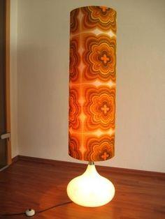 1970s Decor, Mid Century Lighting, Retro Home, Pots, My New Room, Colorful Interiors, Lamp Light, Floor Lamp, Standing Lights
