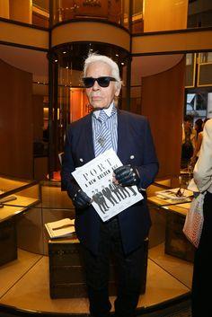 Karl Lagerfeld [Photo by François Goizé]