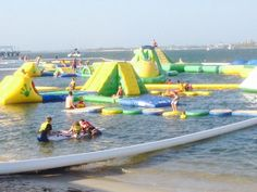 {GOLD COAST} AquaSplash is Australia's first open water fun park, whether you are local, interstate or visiting from Overseas then AquaSplash Gold Coast, has to be on your wish list of things to do. Fun for the entire family. Open from November 1st 2014 until April 30th 2015.