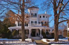The Victorian Elijah Thomas Webb Home, Poughkeepsie, New York. all rights reserved joseph a/flickr