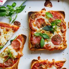 Simple pizza toast recipe for kids - lunch recipes for kids - . - Easy Pizza Toast Recipe for Kids – Lunch Recipes for Kids – - Lunch Snacks, Lunch Recipes, Healthy Snacks, Cooking Recipes, Healthy Recipes, Cooking Food, Easy Snacks, Recipes Dinner, Snacks For School