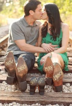Expecting/ Pregnancy Photo # Country Couple # Pregnancy Announcement