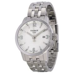Tissot PRC 200 White Dial Stainless Steel Men's Watch T0554101101700 - Tissot - Shop Watches by Brand - Jomashop