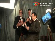 Visit http://www.koimoi.com/ for Latest Bollywood news, box-office reports and film reviews.  Three biggest Bollywood icons - Dilip Kumar, Amitabh Bachchan and Shah Rukh Khan feature on the cover of Filmafare magazines special edition to celebrate Indian cinemas 100 years. Watch how were the stars clicked for the edition.