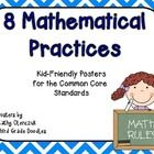 Eight colorful posters to display the 8 Mathematical Practices for the Common Core. These posters state the 8 Practices in Kid-Friendly Language. 8 Mathematical Practices, Math Practices, Mathematics, Math Classroom, Kindergarten Math, Teaching Math, Classroom Ideas, Grade 3, Fourth Grade