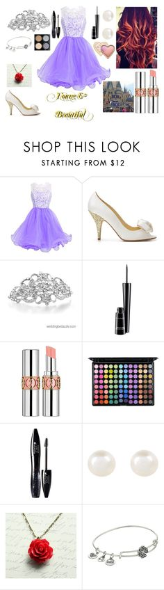 """""""Young & Beautiful"""" by redheadmahomiemidnightredaustin ❤ liked on Polyvore featuring Kate Spade, Retrò, MAC Cosmetics, Yves Saint Laurent, Too Faced Cosmetics, Lancôme, Accessorize and Alex and Ani"""