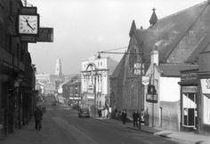 Barnsley: sheffield rd and alhambra Barnsley South Yorkshire, Bus Station, Local History, Home Photo, Sheffield, Big Ben, Countryside, Beautiful Places, Pinterest Marketing