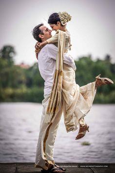 Wedding Photography Poses Portraits Beautiful 53 New Ideas Indian Wedding Poses, Indian Wedding Couple Photography, Pre Wedding Poses, Wedding Couple Poses Photography, Couple Photoshoot Poses, Pre Wedding Photoshoot, Indian Bridal, Kerala Wedding Saree, Kerala Bride