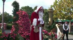 """Epcot Storyteller Pere Noel from France """"Holidays Around The World"""" 11/2..."""