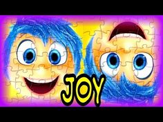 Inside Out The Movie Joy Puzzle Game - Kids Learn & Play Toy Puzzle Games - YouTube