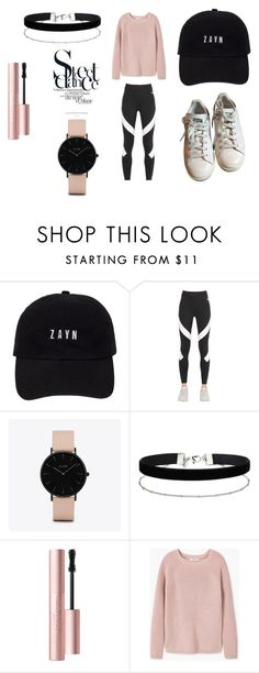 """""""Dance Session"""" by anais-wardrobe ❤ liked on Polyvore featuring NIKE, CLUSE, Miss Selfridge, Too Faced Cosmetics, MANGO and adidas"""