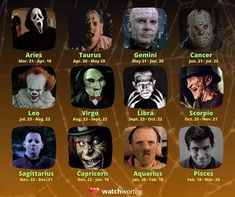Funny Horror, Creepy Horror, Horror Films, Horror Stories, Sagittarius And Capricorn, Gemini And Cancer, Horrible Histories, Creepy Stories, Evil People