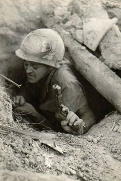 Tunnel rat. Vietnam War. Perhaps one of the scariest jobs for the soldier. He had to crawl into the holed out tunnels chancing to find an enemy and fight one-on-one combat with only a pistol and handknife