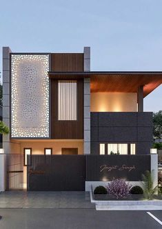 39 Pretty Small Exterior House Design Architecture Ideas – My World House Front Design, Small House Design, Modern House Design, Minimalist House Design, Minimalist Home, Modern Exterior, Exterior Design, House Elevation, Front Elevation