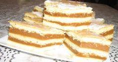 Házi karamell szelet recept