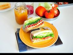 간단하고 푸짐한 B.L.T샌드위치 만들기(BLT Sandwich/꼬마츄츄) - YouTube