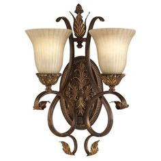 "Sonoma Valley Collection 19 1/2"" High Two Light Wall Sconce - #18363 