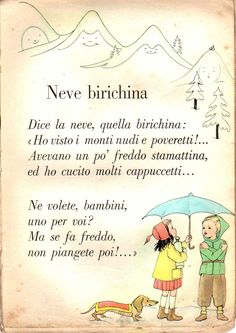 Un articolo di Dindi     Sono parecchi i libri di lettura degli anni 50 che sono illustrati dai nostri beneamati. Quasi mai i loro nomi  ve... Vintage Children's Books, Vintage Cards, Learn To Speak Italian, Reading Practice, Vintage School, Italian Language, Learning Italian, Reading Material, Stories For Kids