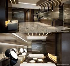 Five star amenities including a grand entrance lobby featured at the X2 Toronto Condominium Tower Residences by Lifetime Developments and Great Gulf Homes.