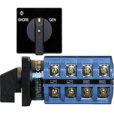 Blue Sea 6337 Switch, AC 120V AC 30A OFF+2 Position [6337]