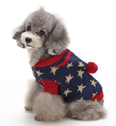 Dog Hoodie Sweater for Doggie Puppy Cats Pet Star Pattern Medium *** Check out the image by visiting the link. (This is an affiliate link and I receive a commission for the sales) Dog Hoodie, Sweater Hoodie, Christmas Presents For Cats, Dog Accesories, Accessories, Wholesale Hoodies, Small Dog Clothes, Cat Sweaters, Dog Shedding