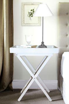 White Butler's Tray - www.lavenderhillinteriors.com.au