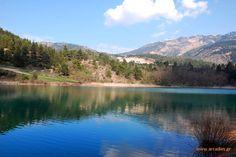 Tsivlou lake.