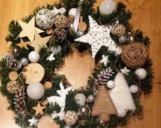 Weihnachtskranz, Adventkranz, Türkranz, Christmas wreath vonMari