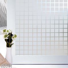 pvc  Self-adhesive film to the glass living room balcony office opaque glass door window stickers explosion-proof