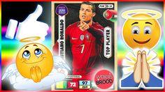 """MEIN 🌟 Cristiano Ronaldo 🌟 Adrenalyn XL !!! LOL ES FUNKTIONIERT!!! Russia 2018 Panini   Hier, Freunde, könnt ihr sehen, dass das Gebet wirklich funktioniert! Beim Auspacken seiner Panini booster box mit 😱 300 Karten 😱 hat Ben den Gott angebeten, dass im nächsten Tüttchen was besonderes sein möge. Dabei findet er die Top Player Karte mit 🌟🌟🌟 Cristiano Ronaldo 🌟🌟🌟  """"Like, like, like"""" 👍👍👍,- schreit Ben."""