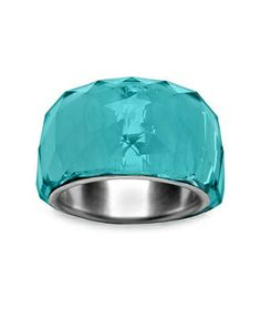 a7d04c616 .turquoise ring Swarovski Crystal Rings, Swarovski Jewelry, Crystal Jewelry,  Clear Crystal,
