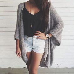 Teen fashion. Cute summer outfit