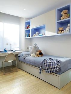 Ideas Simple Designs of Children's Bedrooms that Will Make Children Comfortable at Home * Trendy Bedroom, Girls Bedroom, Bedroom Decor, Kids Bedroom Designs, Kids Room Design, Teenage Room, Bedroom Layouts, Bedroom Accessories, Home Decor Furniture