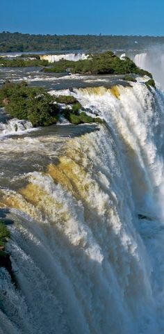What A Wonderful World, Beautiful World, Beautiful Places, Beautiful Pictures, Places Around The World, Around The Worlds, Nature Photography, Travel Photography, Iguazu Falls