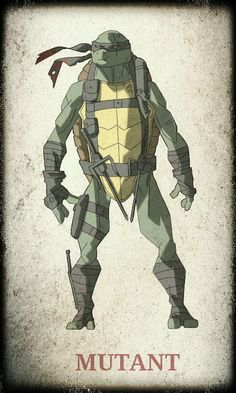 TMNT Raphael by ~devilmonkey77 on deviantART