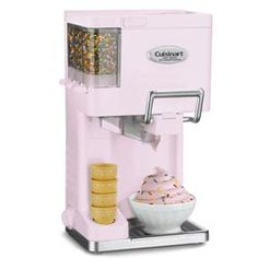 Cuisinart ICE-45PK Pink Mix It In Soft Serve Ice Cream Maker | Overstock.com Shopping - Great Deals on Cuisinart Specialty Appliances