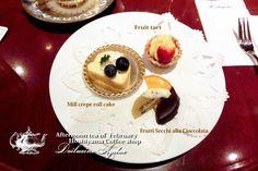 Afternoon tea of February ♥ Hoshiyama Coffee shop