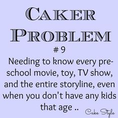 Oh yes, I'm always finding out about new characters I should know all about lol! #cakestyle #cakerproblems www.youtube.com/user/cakestyletv