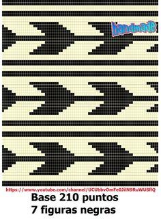 HandMade: Diseños o esquemas para mochila estilo Wayuu