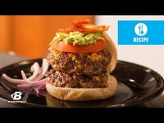 Cheddar Avocado Gains Burger- Got to be the food stylist on this shoot!