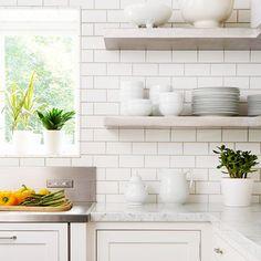 Ice White Beveled Subway Tile Us Ceramics 3x6 Subway