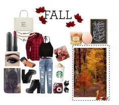 """""""MY FALL LOOK"""" by ishana-774 on Polyvore featuring Columbia, Charlotte Russe, Target, Wet Seal, Ardell, Polaroid, Sonoma life + style and favorites"""