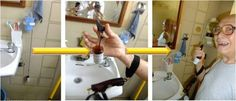 DIY Fall Alarm - The Able Studio    Worried about falls in the toilet? Here is how you can make a DIY Falls Alarm Whistle:         Equipments required:    1) Whistle    2) String    3) Unused medication bottle    Note: Make sure that the string is long enough that it touches the floor