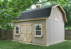 Mini Barn - Amish Yard