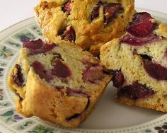 Cherry Muffins http://ow.ly/kCchP